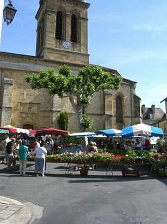 Market at Excideuil